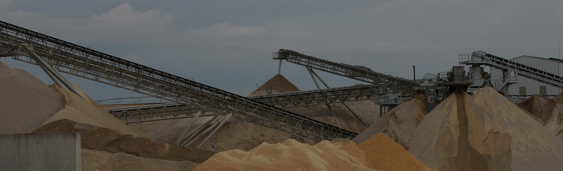 produkcja piasku budowlanego